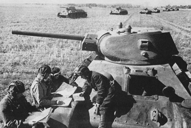 Sowieccy czołgiści w czasie II wojny światowej