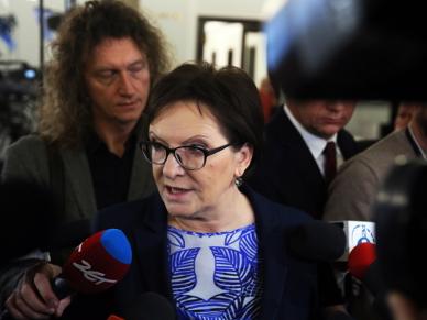 Ewa Kopacz o nowelizacji ustawy o TK: to jest zwyk�a gangsterka