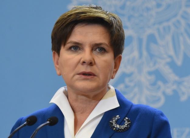 Premier Beata Szyd�o we�mie udzia� w spotkaniach przyw�dc�w w Brukseli i w Pary�u