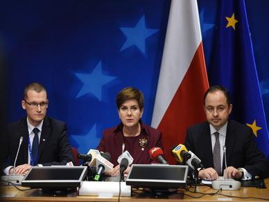 Premier zadowolona z debiutu w Brukseli: zosta�am dobrze przyj�ta