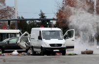 Alarm bombowy na lotnisku w Sofii. Tajemnicza furgonetka na belgijskiej rejestracji