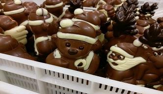 Jak powstają czekoladowe Mikołaje?