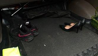 Śmietnik w samochodzie