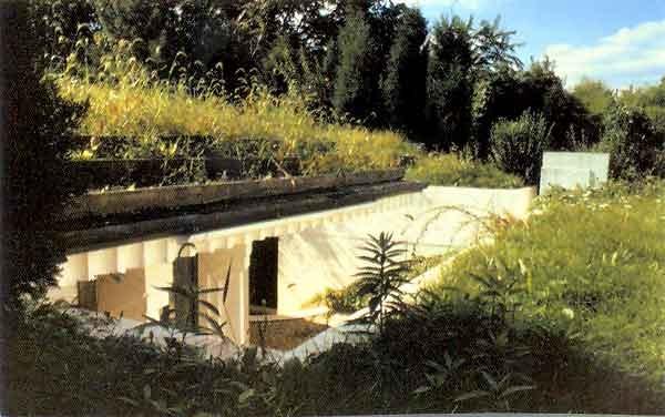 Building A Home Into A Hillside