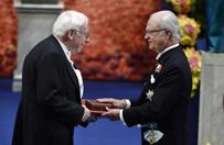 Kr�l Szwecji wr�czy� Nagrody Nobla