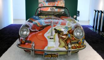 Porsche Janis Joplin zlicytowane