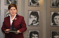 Beata Szyd�o: musimy wype�ni� testament g�rnik�w z Wujka