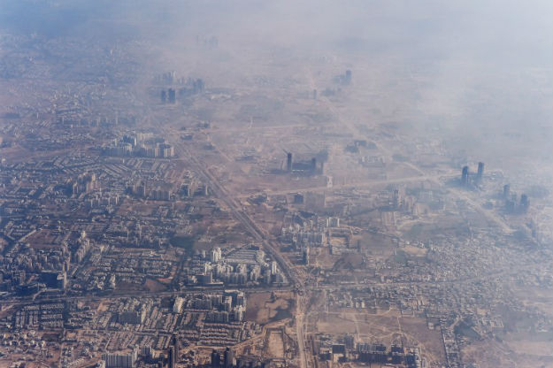 Nowe Delhi pod kopu�� smogu