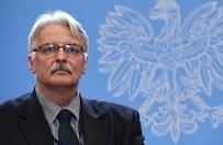 Witold Waszczykowski: kwestia imigrant�w jest prosta, ale trudna do realizacji