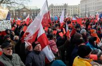Manifestacja KOD w dziewi�tnastu miastach Polski
