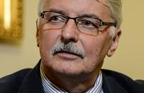 Waszczykowski: być może szef Komisji Weneckiej czytał stare gazety