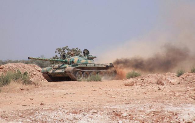 Syryjskie si�y rz�dowe; zdj�cie archiwalne