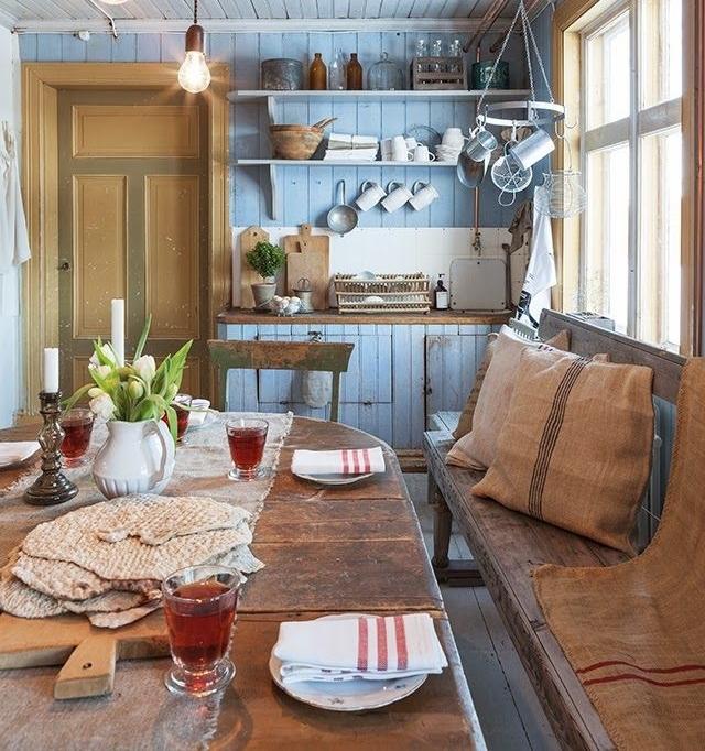 Jak urządzić kuchnię w stylu rustykalnym?  Strona 2  Dom   -> Kuchnie W Rustykalnym Stylu