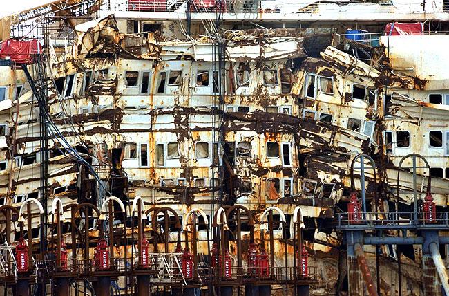 Costa Concordia w trakcie ostatniej podr�y