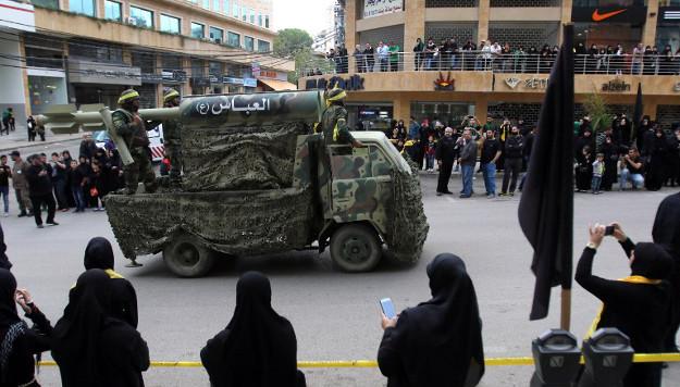 Parada Hezbollahu; Liban, pa�dziernik 2015 r.