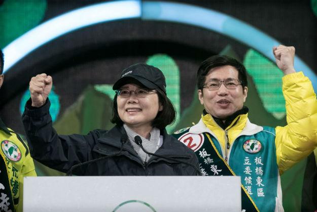 Liderka Demokratycznej Partii Post�powej - Tsaj Ing-wen