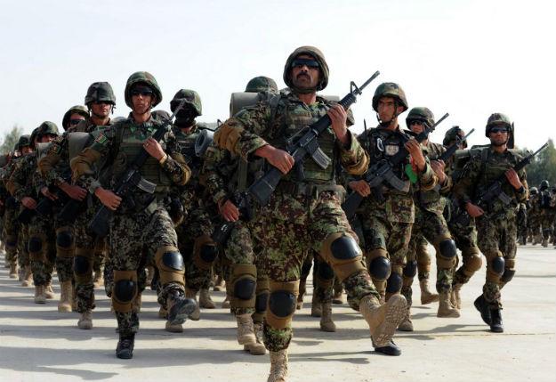 �o�nierze afga�skiej armii