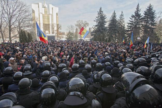 Demonstracja w Kiszyniowie