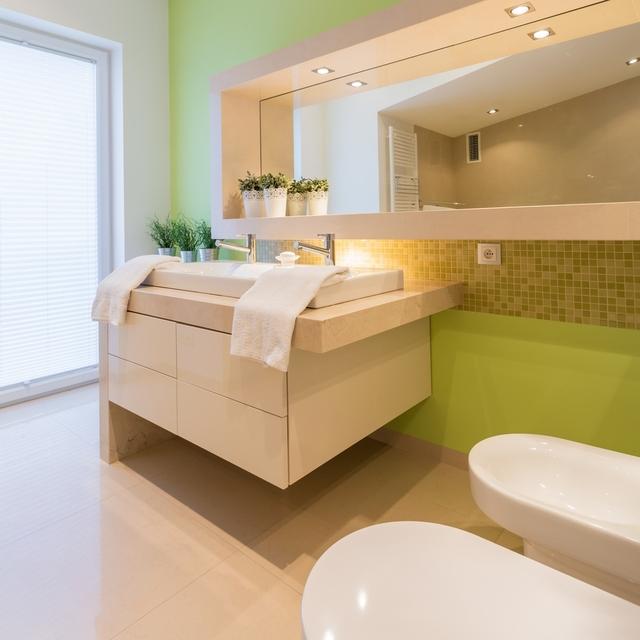 Jak urz dzi azienk trendy 2016 dom wp pl for Salle de bain couleur kaki