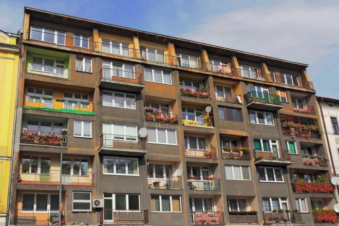 Polskie mieszkania na tle Europy