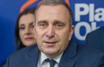 Grzegorz Schetyna nowym przewodnicz�cym Platformy Obywatelskiej