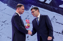 """Andrzej Duda """"Cz�owiekiem Wolno�ci"""" tygodnika """"wSieci"""""""