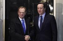 Brytyjska prasa o spotkaniu Cameron - Tusk
