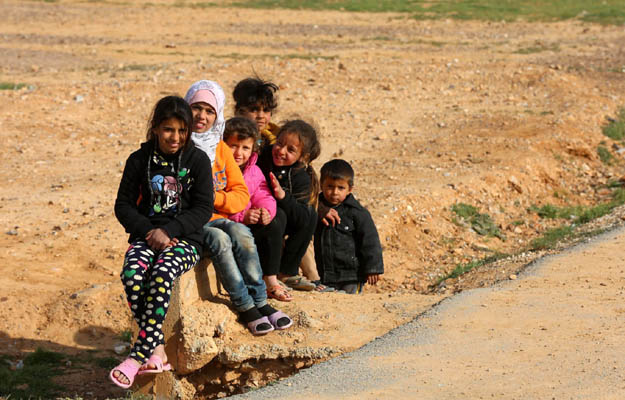 Syryjskie dzieci w obozie w Jordanii - nieletni s� nara�eni na przemoc, tak�e seksualn�