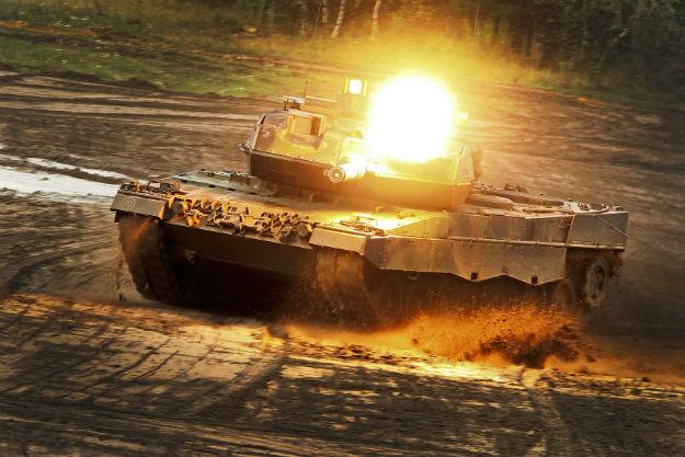 Niemiecki czo�g Leopard 2