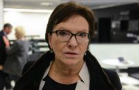 Ewa Kopacz o komisji smole�skiej: polityk� mo�na robi� wsz�dzie, ale nie na ludzkim nieszcz�ciu