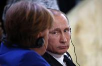 """""""Die Welt"""": upadek Angeli Merkel by�by najwi�kszym prezentem dla W�adimira Putina"""
