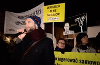 """Manifestacja KOD w Warszawie. """"W�adzo, wyloguj si� z mojego prywatnego �ycia!"""""""