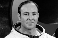Zmar� astronauta Edgar Mitchell sz�sty w dziejach cz�owiek na Ksi�ycu