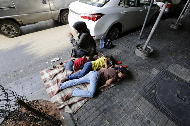 Syryjska uchod�czyni w Bejrucie