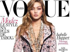 "Naga Gigi Hadid na ok�adce ""Vogue"" Paris"