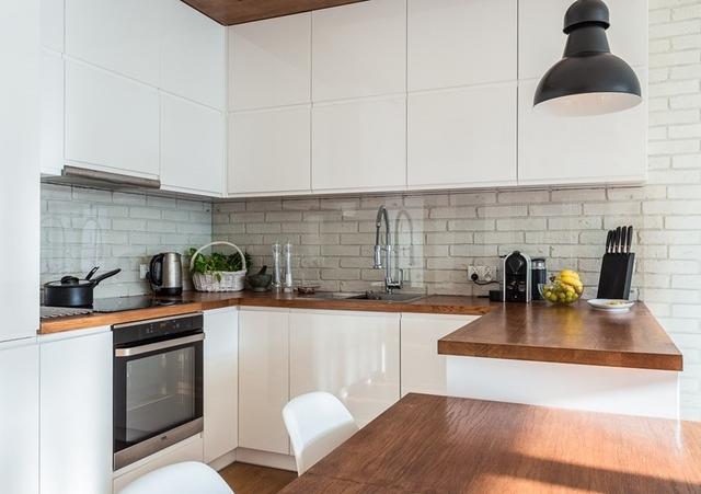 Kuchnia w bloku  Jak urządzić małą kuchnię w bloku   -> Mala Kuchnia Aranżacje Wnetrz