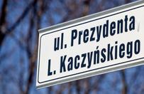 Sp�r o alej� im. Lecha Kaczy�skiego w Tarnowie