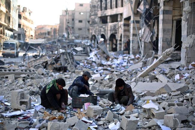 Skutki wojny w Syrii