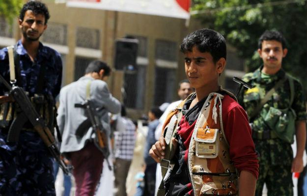 W Jemenie dzieci stanowi� jedn� trzeci� wszystkich �o�nierzy