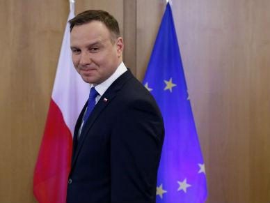 Debata na temat bezpiecze�stwa z udzia�em prezydenta Andrzeja Dudy w Monachium