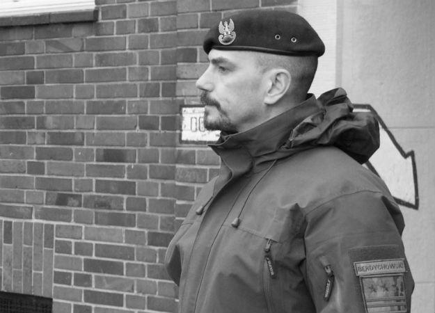 Dowódca jednostki AGAT płk Sławomir Berdychowski