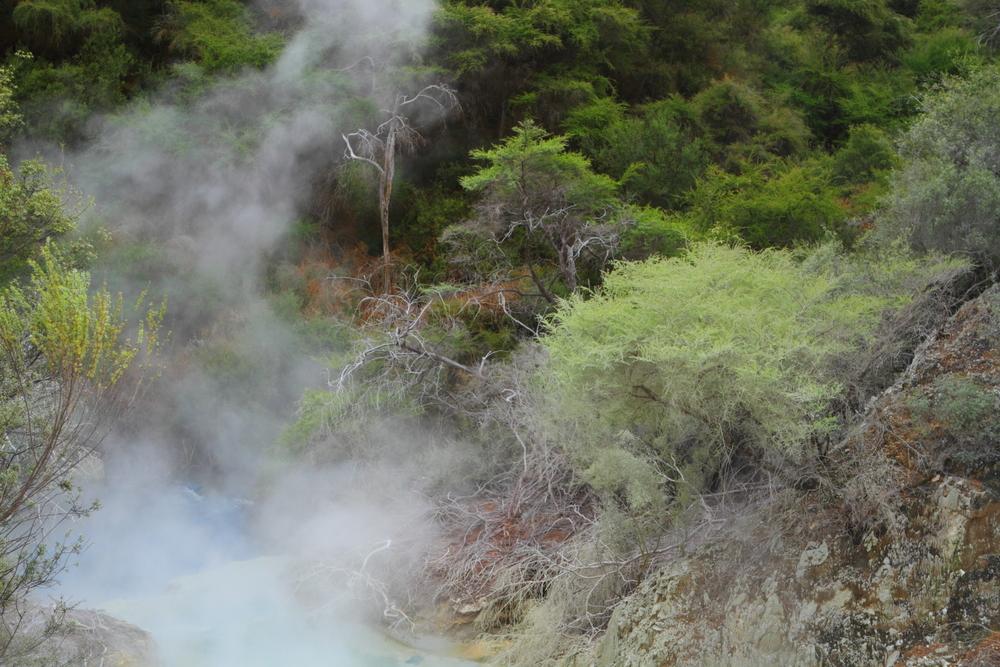 Gotująca się rzeka