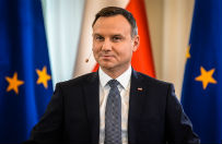 Uczestniczki czarnego protestu apelują do prezydenta Andrzeja Dudy, by nie podpisywał ustawy za życiem
