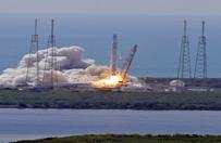 Rakieta Falcon wynios�a satelit�, ale rozbi�a si� podczas l�dowania