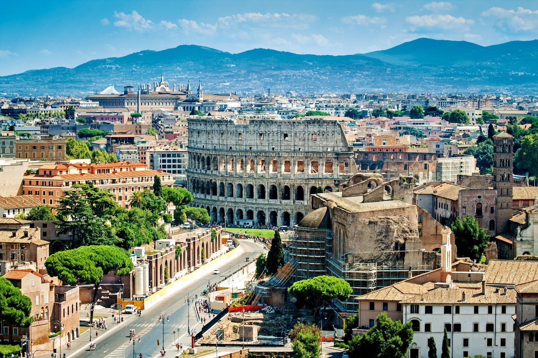 Koloseum, Rzym, Włochy