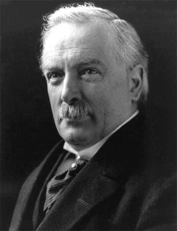 Premier Wielkiej Brytanii David Lloyd George