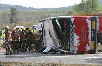 Tragiczny wypadek autobusu