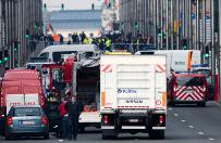 Alarm bombowy w Brukseli. M�czyzna z fa�szywym pasem szahida w centrum handlowym