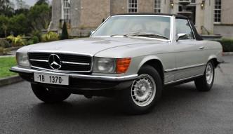 Mercedes 350 SL Ceausescu na aukcji