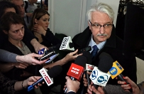 Witold Waszczykowski: cieszymy si�, �e KE kontynuuje dialog z Polsk�